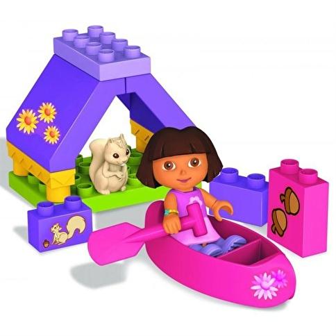 Mega Bloks Dora'Nın Kamp Macerası Oyun Seti Renkli